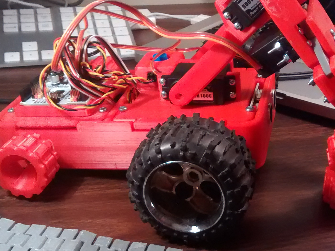 Development of a 3D Printable Robot for use in Education